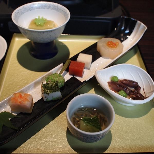 箱根強羅温泉季の湯雪月花の前菜