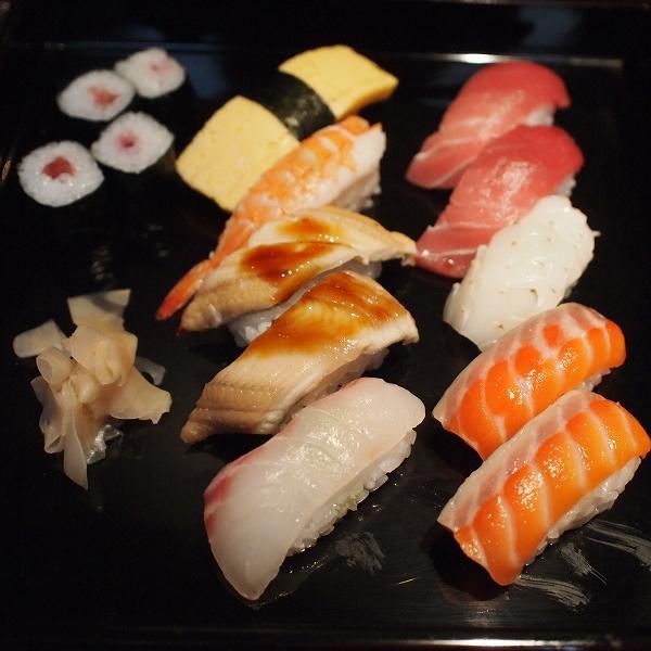 箱根強羅温泉季の湯雪月花のお寿司