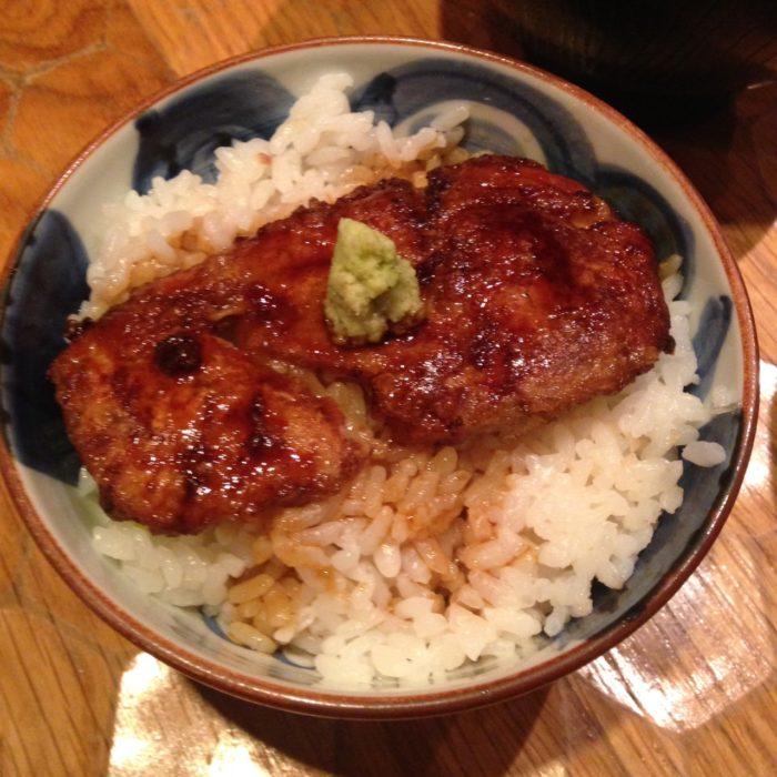 十番右京のフォアグラご飯