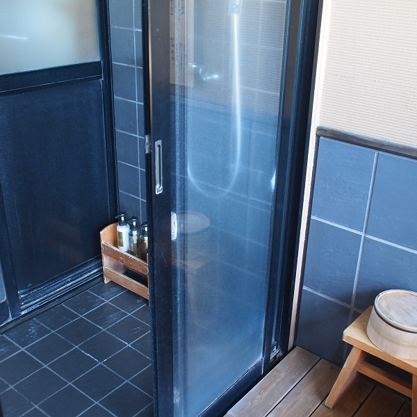 箱根強羅温泉季の湯雪月花のシャワールーム