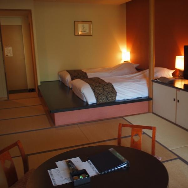 箱根強羅温泉季の湯雪月花の部屋全体