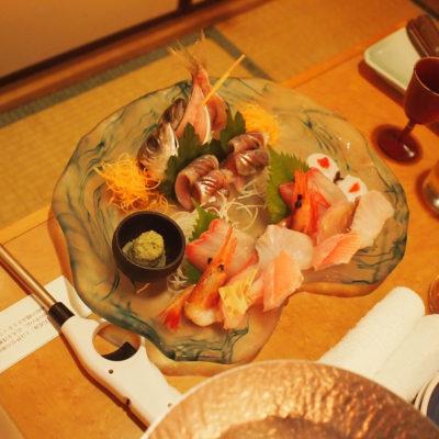 石花海 お刺身の盛り合わせ