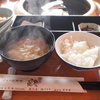 石花海 朝食