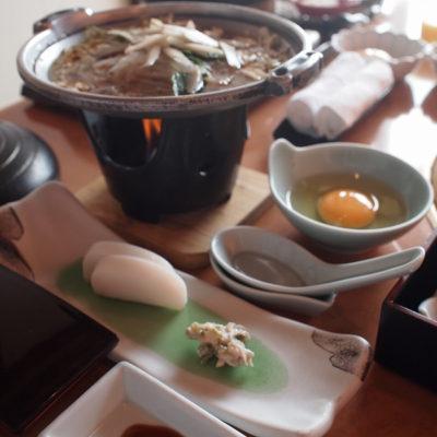 石花海 朝食 しらすなべ