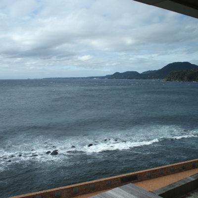 石花海オーシャンビュー 部屋から撮影