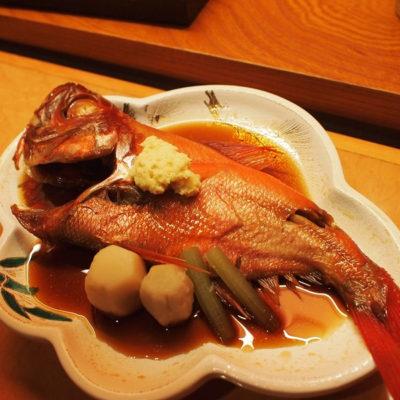 石花海 金目鯛の煮つけ