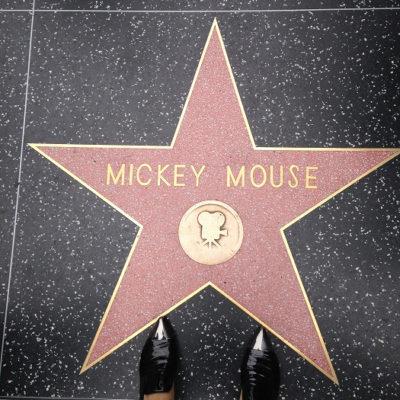 ミッキーマウス ハリウッド・ウォーク・オブ・フェーム