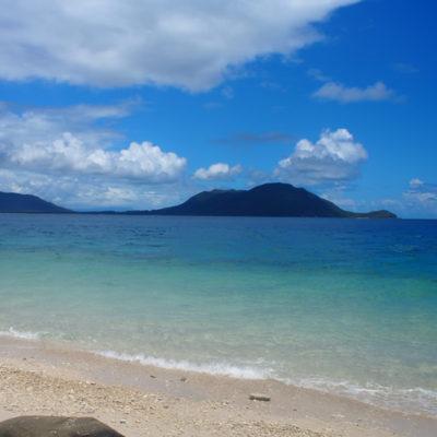 フィッツロイ島 ヌーディービーチ