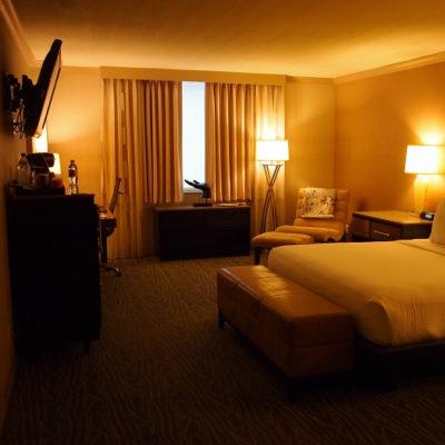 ラックスシティホテル デラックスキングルーム 部屋