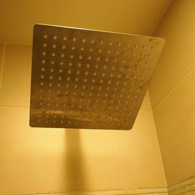ラックスシティホテル デラックスキングルーム シャワー