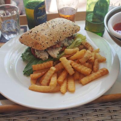 chickenburger チキンバーガー