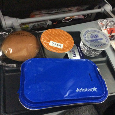 ジェットスターの機内食