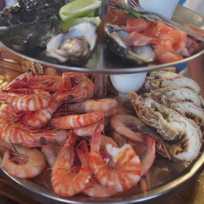 prawn-海老の山 シーフード盛り合わせ