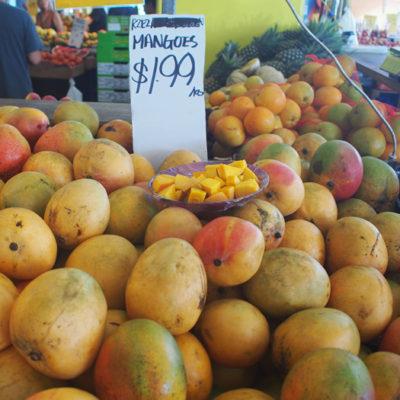 ラスティーズマーケットで買ったマンゴー