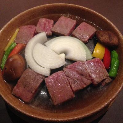 奥日光ホテル四季彩 夕食 高原牛