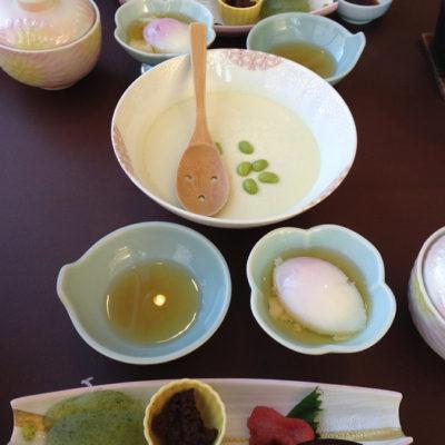 ホテル四季彩 朝食 豆腐
