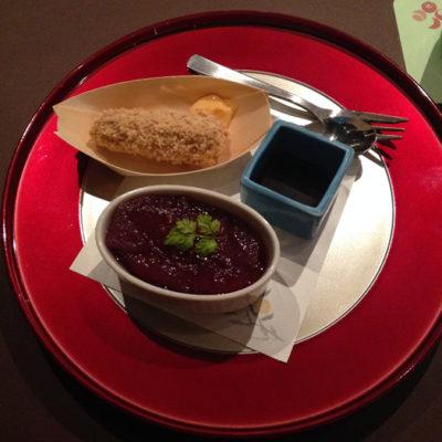 奥日光ホテル四季彩 夕食のデザート