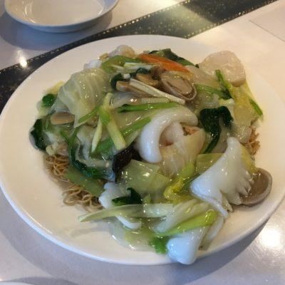 広東名菜富徳 海鮮あんかけ焼きそば