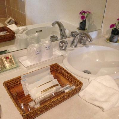 奥日光ホテル四季彩 洗面所