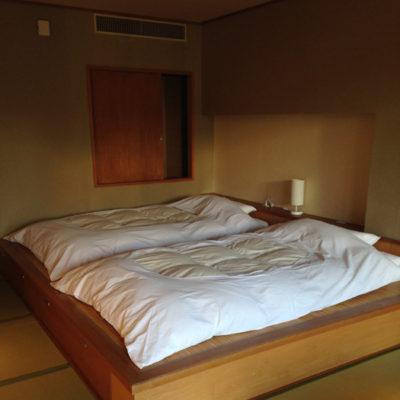 奥日光ホテル四季彩 ベッド