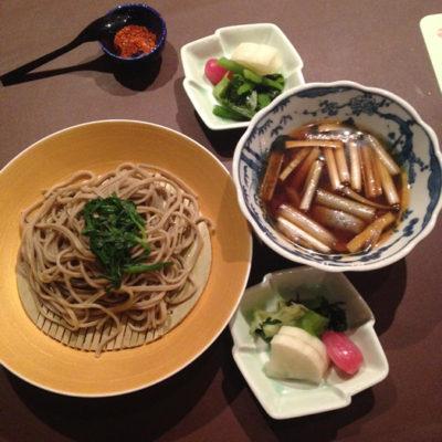 奥日光ホテル四季彩 夕食 そば