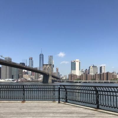 ブルックリンからみたマンハッタン