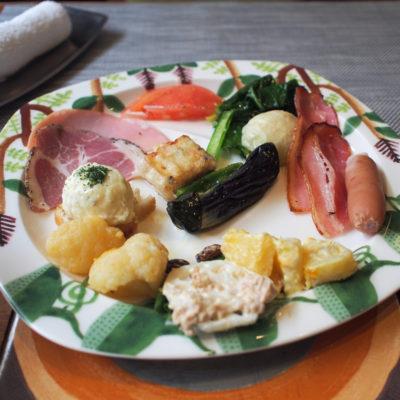 定山渓鶴雅リゾートスパ 森の謌 朝食ビュッフェ 洋食