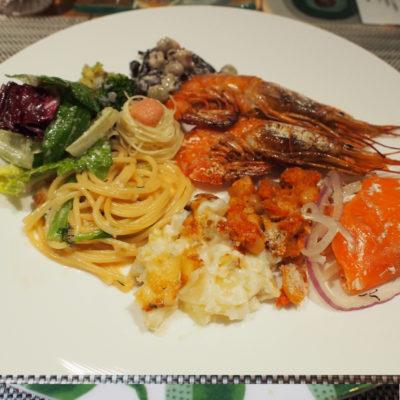 定山渓鶴雅リゾートスパ 森の謌 ディナービュッフェ 洋食