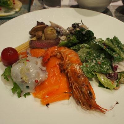 定山渓鶴雅リゾートスパ 森の謌 洋食ビュッフェ