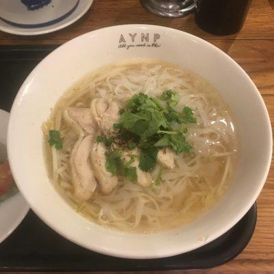 六本木ベトナムフォー専門店フォーフォーの鶏出汁フォー