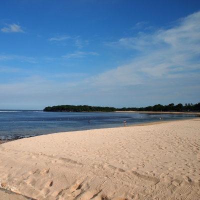 ヌサドゥアのプライベートビーチ