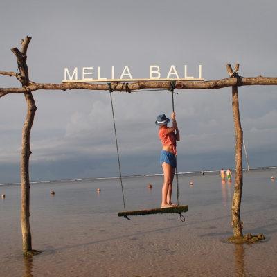 ヌサドゥアのプライベートビーチ メリア・バリ