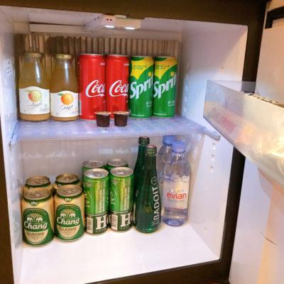 シャングリラホテルバンコククルンテープ 冷蔵庫