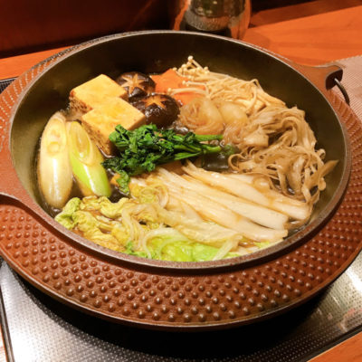 松坂牛黒毛和牛クラシタすき焼きの野菜