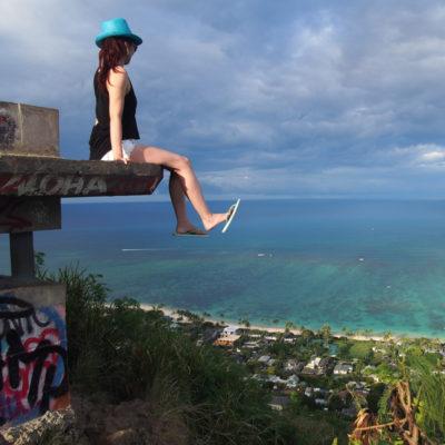 ピルボックスに登った
