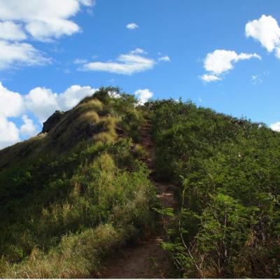 ピルボックスの坂道と傾斜