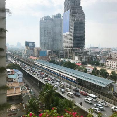 バンコク シャングリラホテルバンコク 渋滞