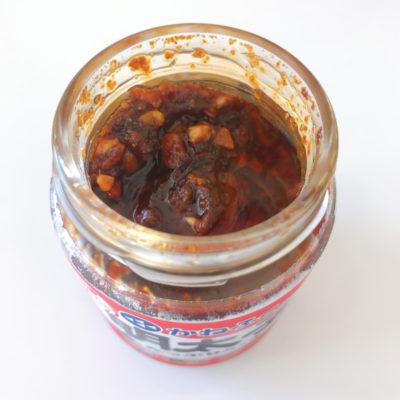 かねふくの食べる明太子ラー油の中身