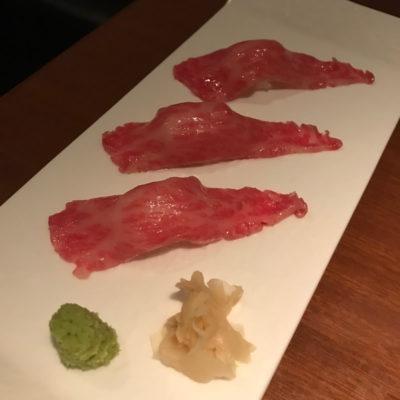 生粋 肉寿司
