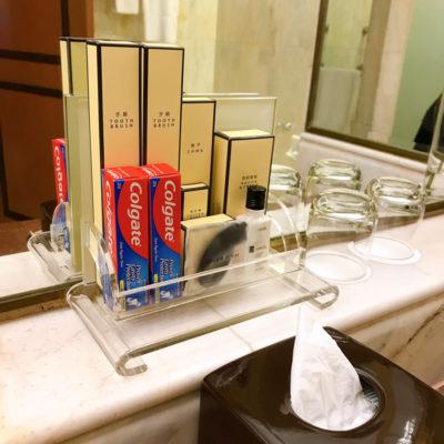 シャングリラホテルバンコククルンテープ アメニティ 歯ブラシ