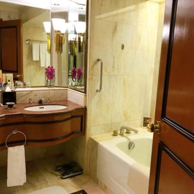 シャングリラホテルバンコククルンテープ バスルーム