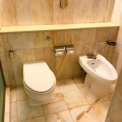 シャングリラホテルバンコククルンテープ トイレ