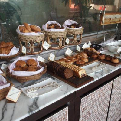 シャングリラホテルバンコク ラウンジ朝食 パン