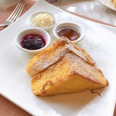 シャングリラホテルバンコク ラウンジ朝食 フレンチトースト