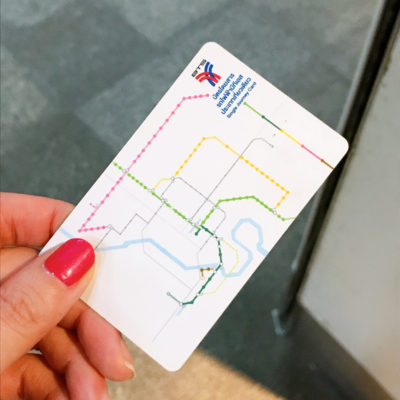 btsのカード(切符)