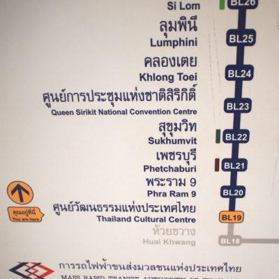 MRTの路線案内