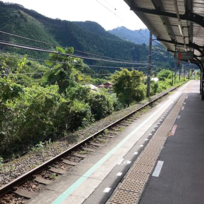 青梅線御嶽駅