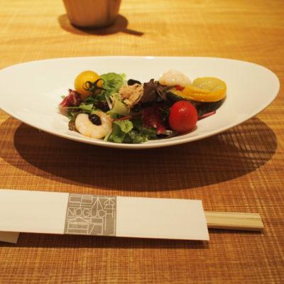 望楼NOGUCHI登別 朝食 和食のサラダ